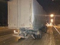 В Ясногорском районе иномарка влетела под фуру, Фото: 6