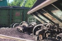 В Тульской области грузовой поезд сошел с рельсов, Фото: 23