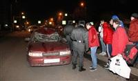 На ул. Вильямса в Туле пьяный водитель сбил пешехода, Фото: 2