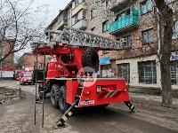 На улице Металлургов в Туле загорелась квартира , Фото: 20