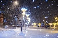 Вечерний снегопад в Туле, Фото: 24