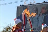 Первый этап эстафеты олимпийского огня: Пролетарский район, Фото: 18