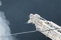 Пожар на складе ОАО «Тулабумпром». 30 января 2014, Фото: 22