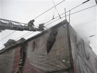 В Туле загорелся дом на ул. Металлистов, Фото: 1