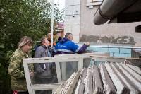 Группа быстрого реагирования УФССП помогла повторно за долги отключить тулячке газ, Фото: 13