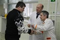 Церемония вручения знака «Почетный донор России». 30 декабря 2013, Фото: 9