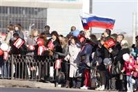 Второй этап эстафеты олимпийского огня: Зареченский район, Фото: 14