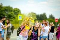 В Туле прошел фестиваль красок и летнего настроения, Фото: 12
