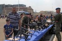 День Тульской дивизии ВДВ: на площади Ленина приземлились парашютисты, Фото: 101