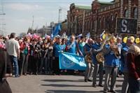 Тульская Федерация профсоюзов провела митинг и первомайское шествие. 1.05.2014, Фото: 3