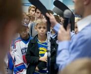 В Новомосковске стартовал молодежный чемпионат России по хоккею, Фото: 10