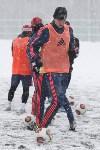 «Арсенал» готовится на снежном поле к игре против «Тосно», Фото: 3
