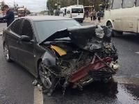 Массовое ДТП в центре Тулы: четверо пострадали, Фото: 1