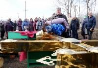 Храм в селе Ефремовского района обрел купол и крест, Фото: 16