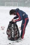 «Арсенал» готовится на снежном поле к игре против «Тосно», Фото: 34