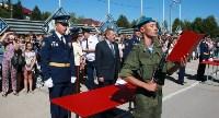Командиру 106-й гвардейской воздушно-десантной дивизии вручено Георгиевское знамя, Фото: 9