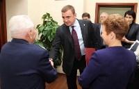 Тульский ветеран предложил Алексею Дюмину увековечить память бронепоезда №16, Фото: 1