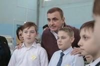 Алексей Дюмин в гимназии Кимовска, Фото: 16