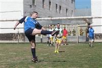 Тульские журналисты сыграли в футбол с зэками, Фото: 9