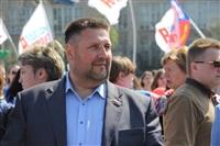 Тульская Федерация профсоюзов провела митинг и первомайское шествие. 1.05.2014, Фото: 82