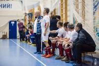 Мэр Тулы Юрий Цкипури и команда ветеранов «Фаворит» сыграли в футбол с волонтерами, Фото: 66