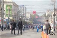 Легкоатлетическая эстафета школьников. 1.05.2014, Фото: 17