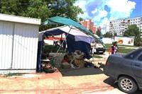В Туле легковушка протаранила торговую палатку, Фото: 5