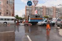 Возле роддома в центре Тулы забил фонтан, Фото: 14