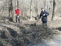 Субботник в Комсомольском парке с Владимиром Груздевым, 11.04.2014, Фото: 23