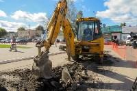 В посёлке Южный стартовали работы по обустройству ливневой канализации, Фото: 4