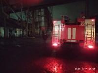 В Ясногорске загорелся склад для хранения зерна, Фото: 5