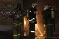 Пожар в здании бывшего кинотеатра «Искра». 10 марта 2014, Фото: 8