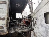 В Петелино сгорел грузовик, Фото: 2