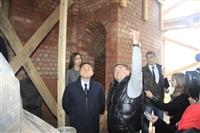 16 октября Владимир Груздев проконтролировал ход работ в Тульском кремле., Фото: 10