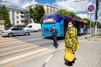 Полицейский рейд в тульских маршрутках: на пассажиров без масок составляют протоколы, Фото: 14