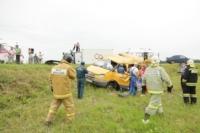 Авария на трассе Тула-Калуга. 04.07.2014, Фото: 11