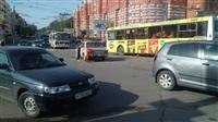 Авария на пересечении Красноармейского проспекта и ул. Дмитрия Ульянова, Фото: 2