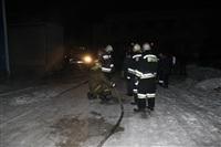 Пожар на складе ОАО «Тулабумпром». 30 января 2014, Фото: 1