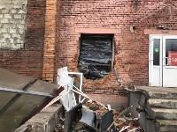 В Туле самосвал проломил стену супермаркета, Фото: 1
