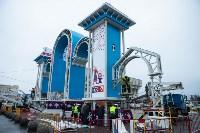 Установка новогодней арки, Фото: 6