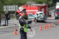 В ДТП под Тулой погибли три сотрудника УФСИН, Фото: 16