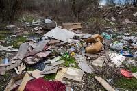 В Туле на берегу Тулицы обнаружен незаконный мусорный полигон, Фото: 22