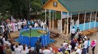 Крещение жителей Новомосковска, Фото: 3