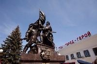 Открытие монумента и бронепоезда на Московском вокзале. 8 мая 2015 года, Фото: 68