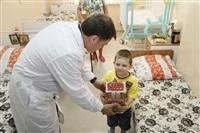 Владимир Груздев в Тульской детской областной клинической больнице. 26 декабря 2013, Фото: 3
