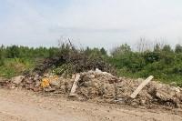 В тульском Заречье жители год добиваются ликвидации ядовитой свалки, Фото: 8