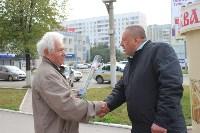 Сергей Шестаков поздравляет тулячек с наступающим днем города, Фото: 12