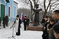Никита Руднев-Варяжский, внук легендарного командира «Варяга» с визитом в Тульскую область, Фото: 13