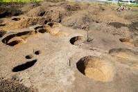 Раскопки на берегу Упы, Фото: 11