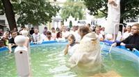 Крещение жителей Новомосковска, Фото: 7
